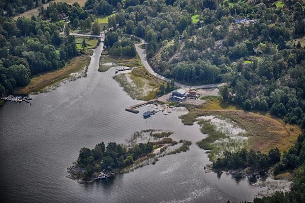 Mickrums brygga, Muskö kanal, Rönnskär