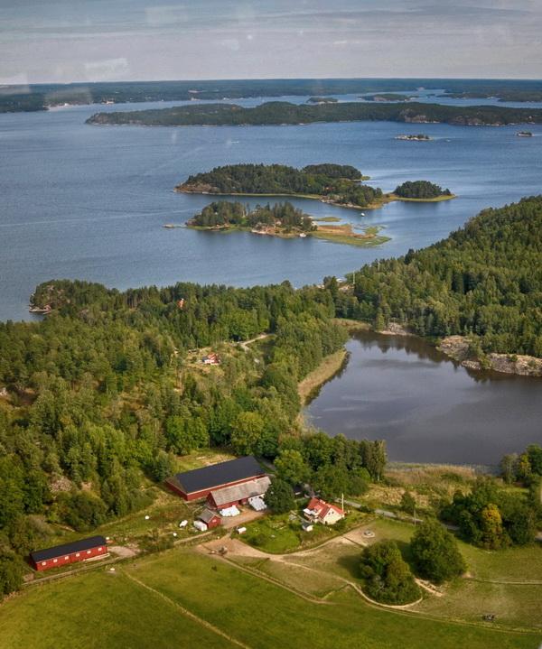 Valinge gård, Valinge, Kvarnholmen, Käfsholmen