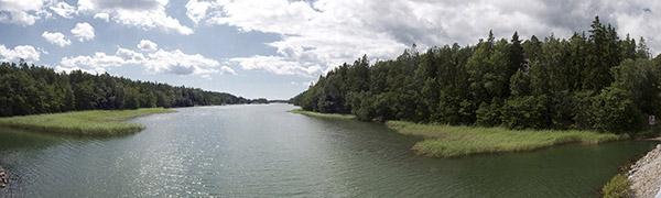 Panorama Yxlö kanal