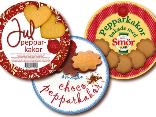 Royal Biscuit – Förpackningar med mera