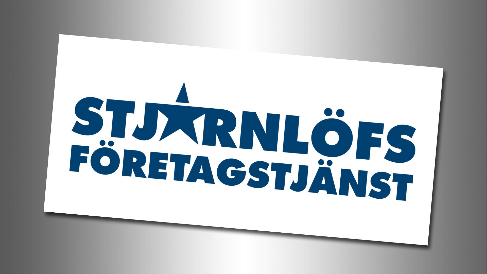 Stjärnlöfs Företagstjänst - Logotype