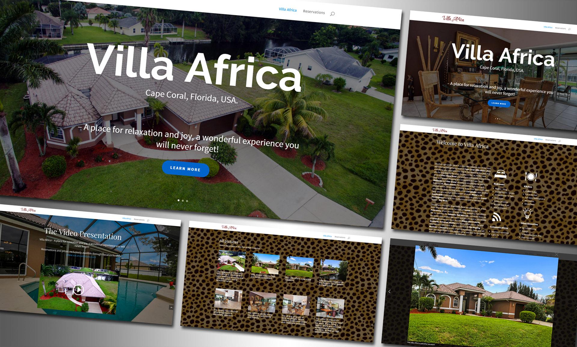VillaAfrica-Hemsida-Presentation