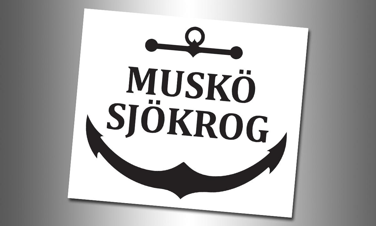 Muskö Sjökrog- Logotype